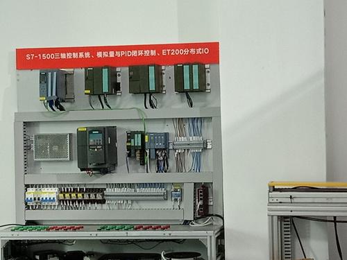 众为新增西门子1500PLC培训设备